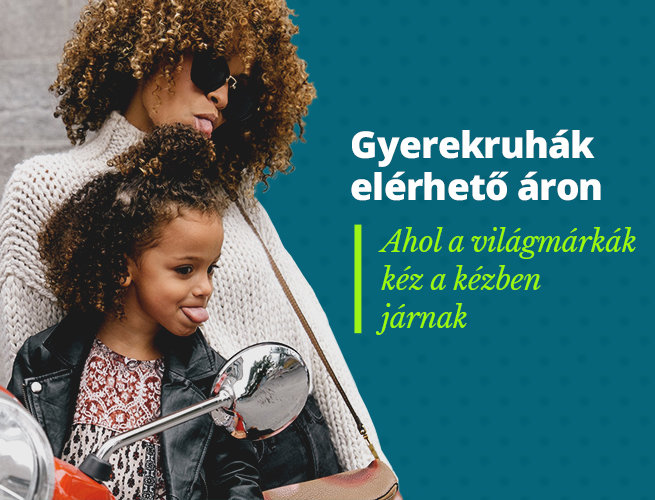 Gyerekruhák elérhető áron