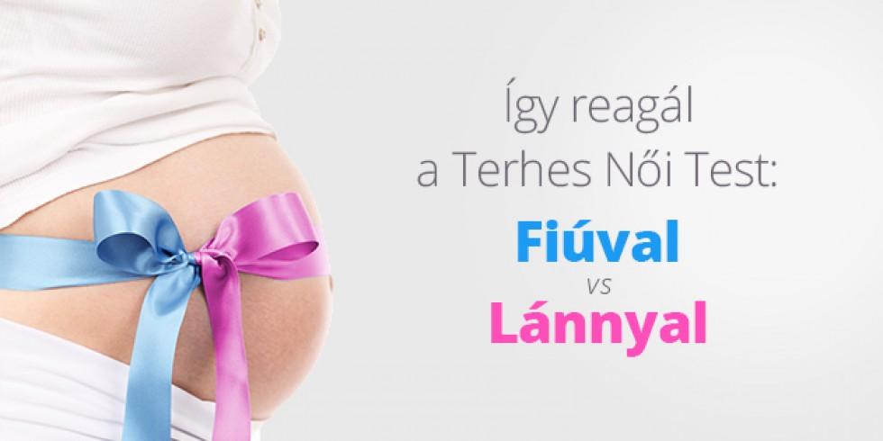 Így reagál a Terhes Női Test: Fiúval vs Lánnyal