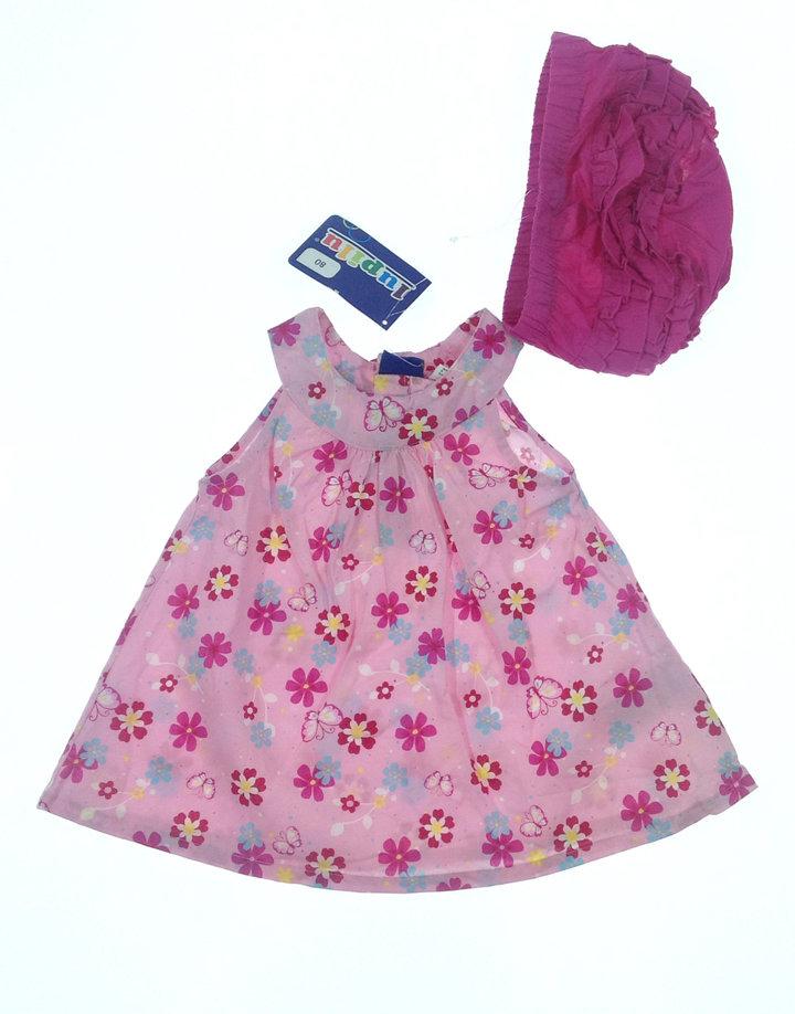 Lupilu virág mintás baba ruha bugyival Gyerekruha Klub 4a2ee469ce