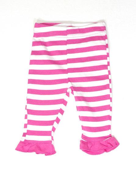 Csíkos fodros leggings