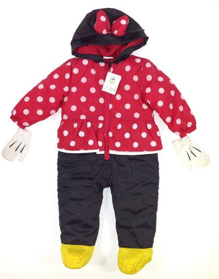 Disney Minnie mintás baba overál  3b2fd5a820