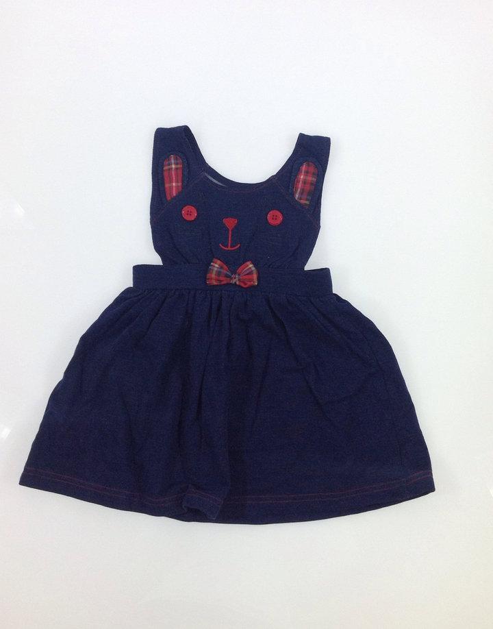 Heatons cica mintás kislány ruha