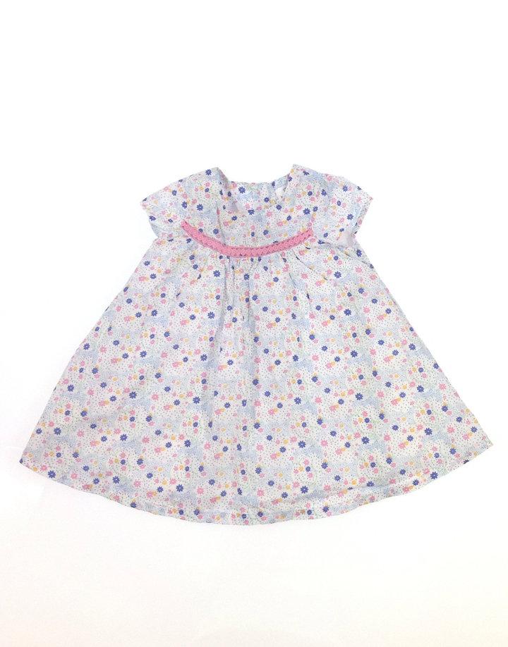 John Lewis apró virág mintás baba ruha Gyerekruha Klub 897d63c873