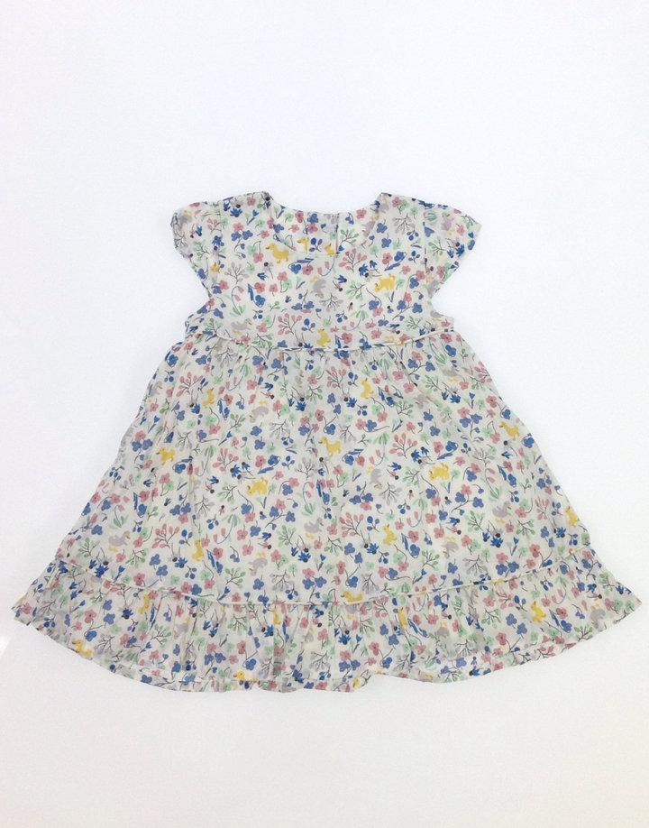 Marks & Spencer virág mintás baba ruha