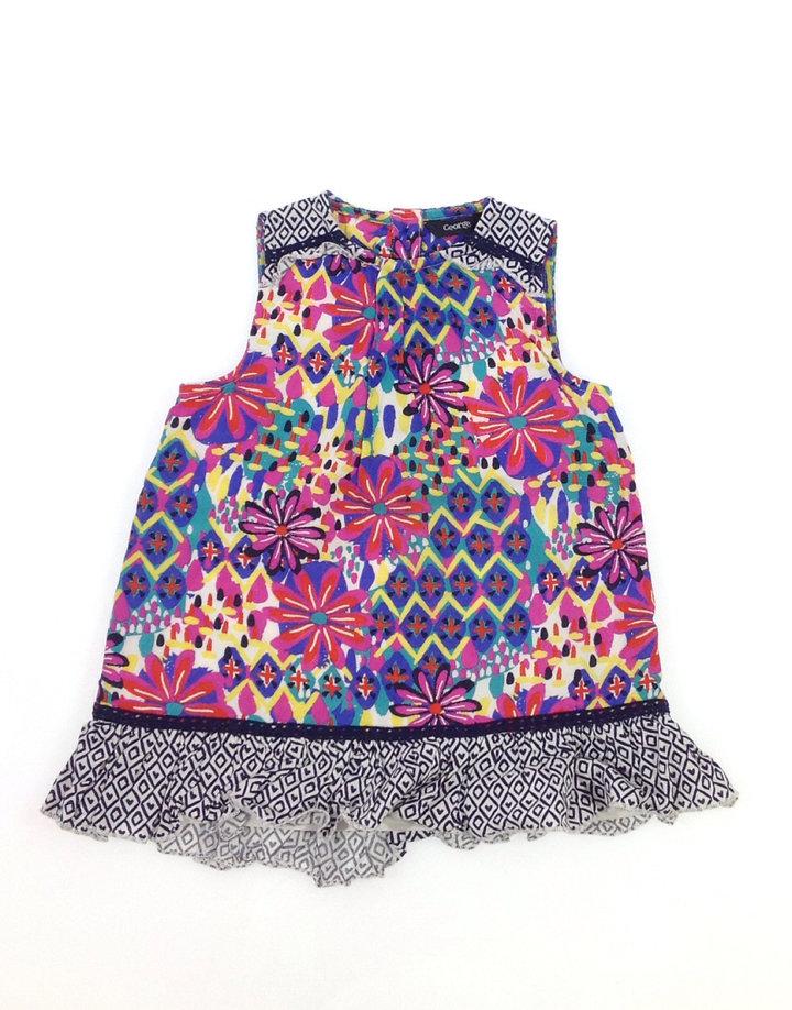 George virág mintás kislány ruha
