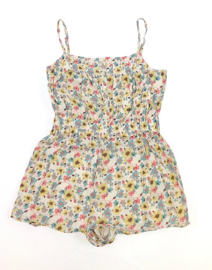 Marks   Spencer virág mintás kislány rövidnadrágos ruha  46ddf303ea