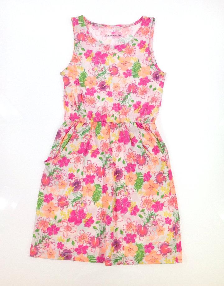 Y.d. virág mintás kislány nyári ruha  1b80ce121a