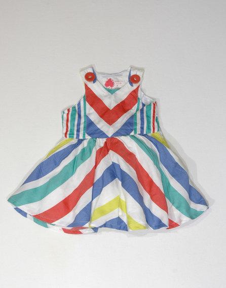 NEXT retro mintás ruha