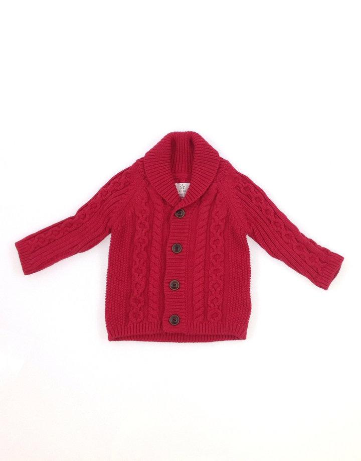 Next piros kötött baba pulóver  635f3ba8a4