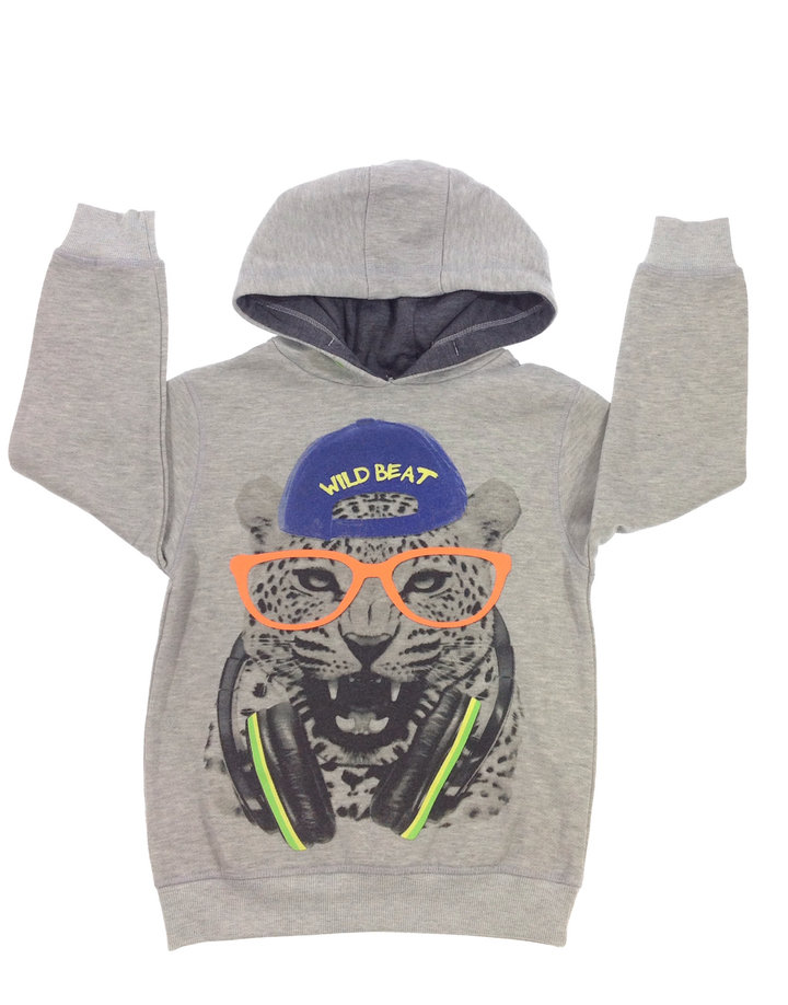 Rebel párduc mintás kisfiú pulóver  e1e705545b