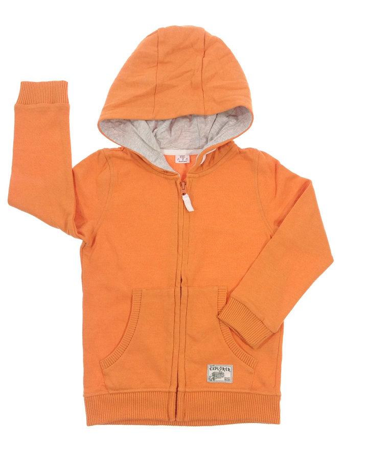 F F narancssárga kisfiú pulóver  09ba796dd3