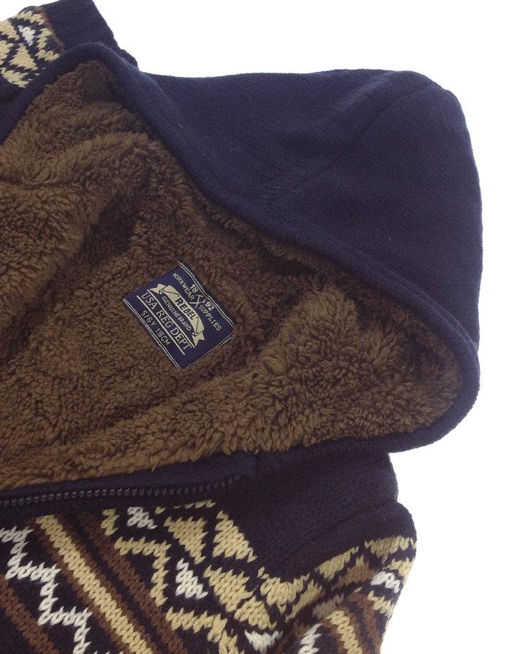4036866683 Rebel vastag téli kisfiú kötött pulóver Rebel vastag téli kisfiú kötött  pulóver