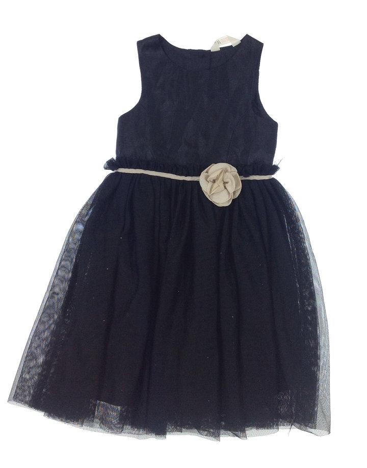 H M fekete kislány alkalmi ruha  3d30c4a9e2
