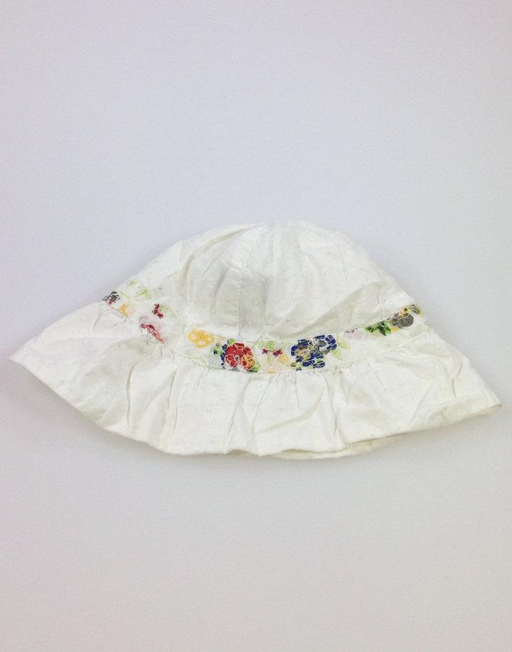 Guess fehér virág mintás baba kalap  4d3e16c824