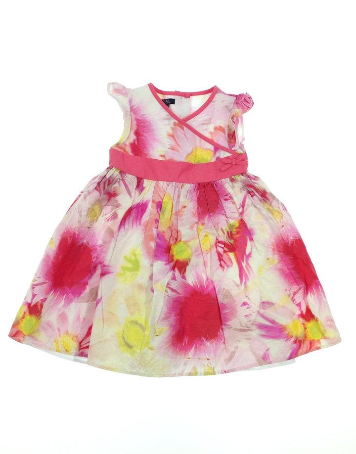 a60e3462db Debenhams színes kislány ruha   Gyerekruha Klub