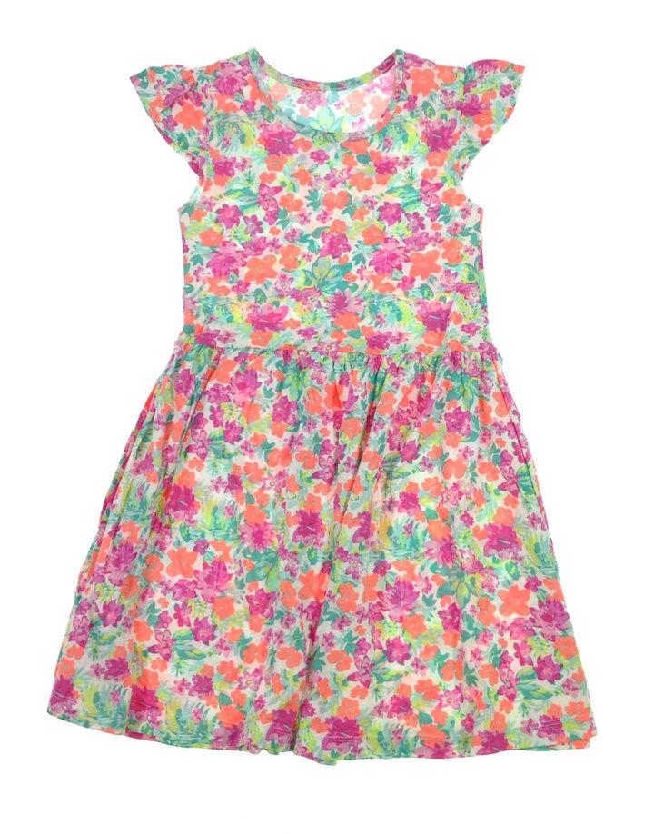 St. Bernard virág mintás kislány ruha  0c54242c23