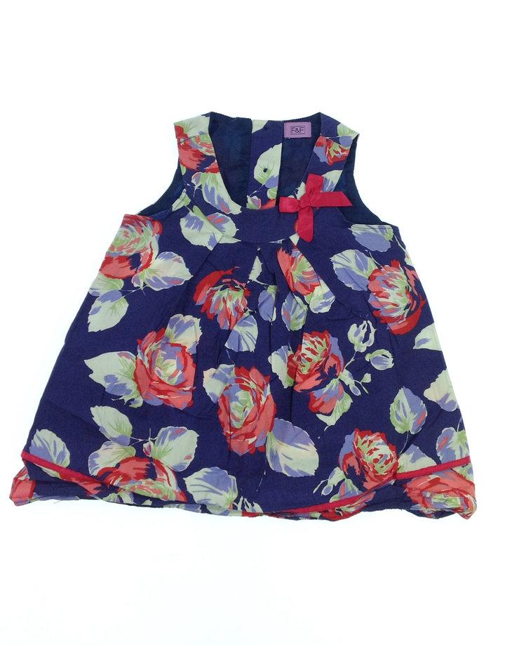 F F rózsa mintás baba ruha  2140c3e387