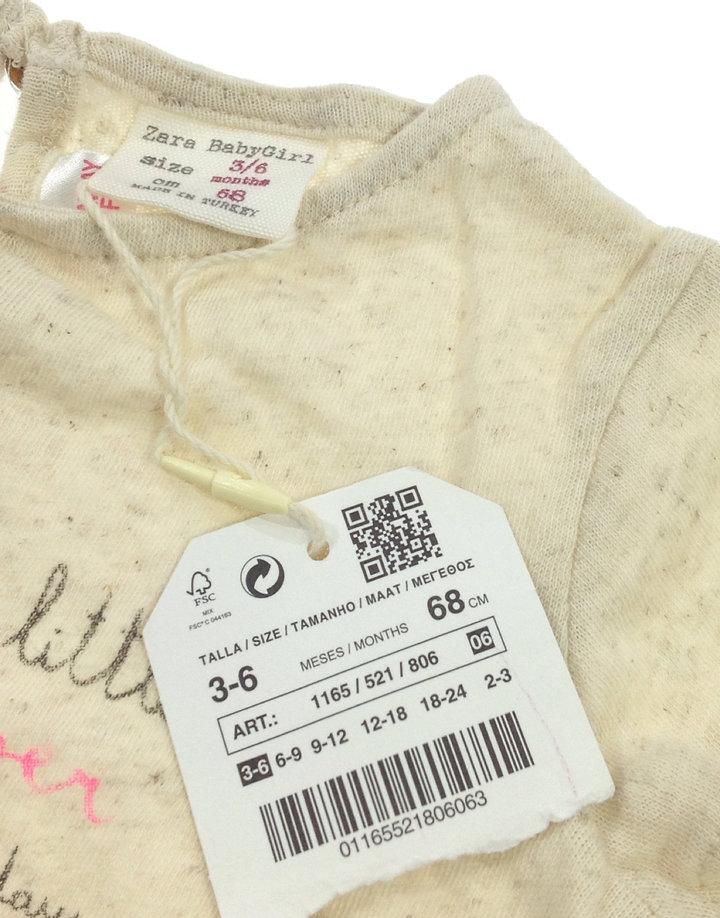 Zara feliratos baba felső - 2290 Ft - (meghosszabbítva  2724572381 ... e681ecbaee