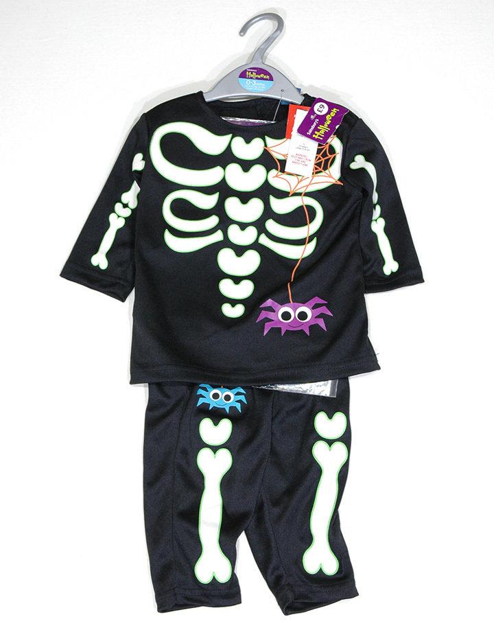 TU csontváz mintás halloween-i jelmez