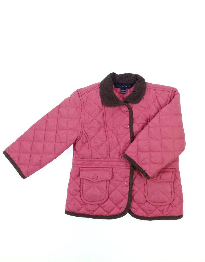 Tommy Hilfiger steppelt kislány vékony kabát  f0218e9ab6