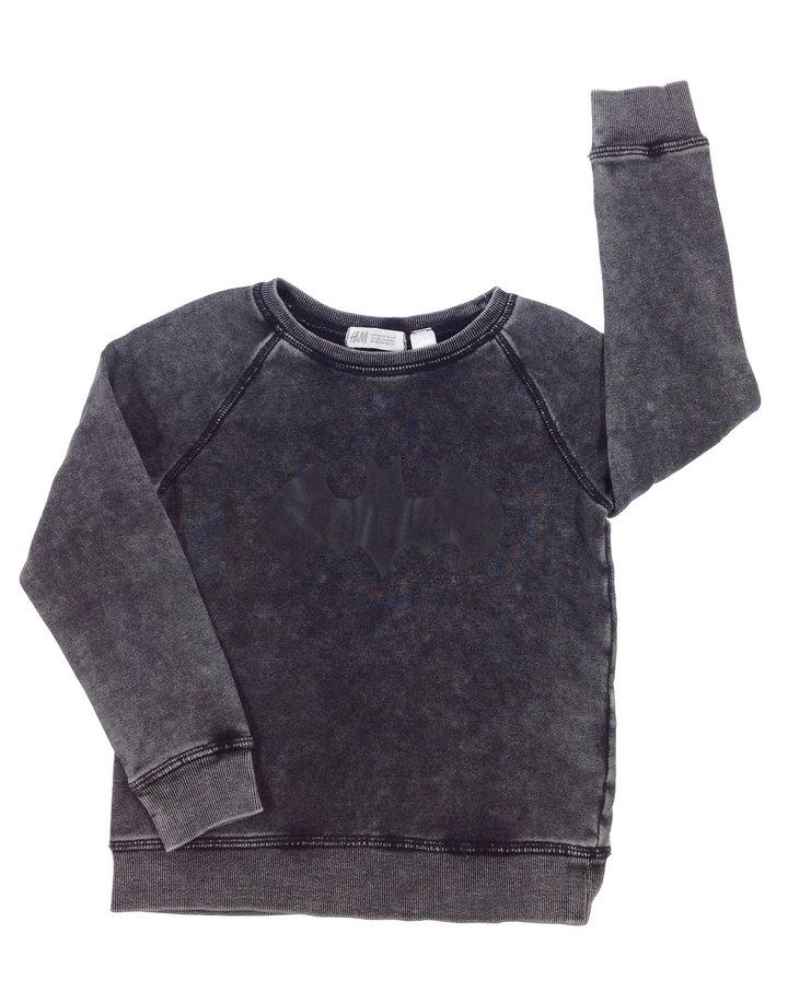H M Batman mintás kisfiú pulóver  ad6e2ada20