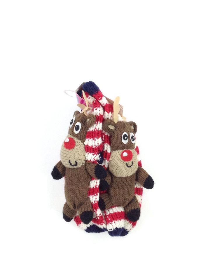 Essentials rénszarvasos kislány házi zokni  d946315817
