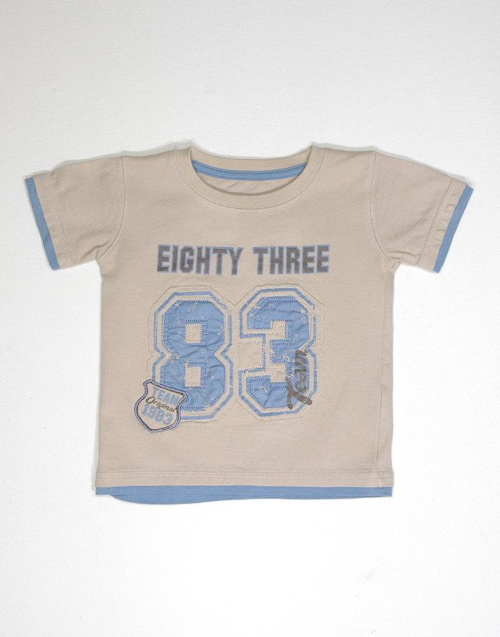 Matalan kisfiú mintás póló