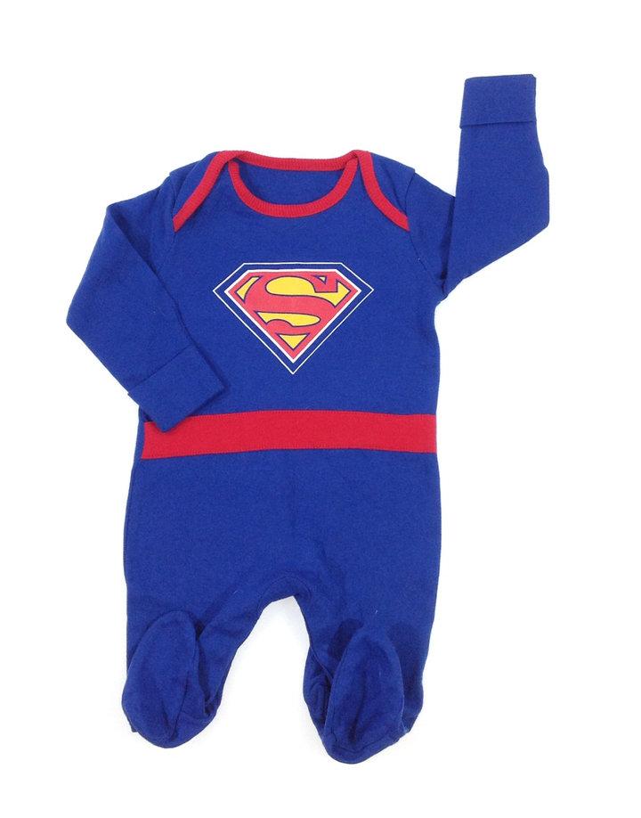 George Superman mintás kisfiú rugdalózó  879bba6914