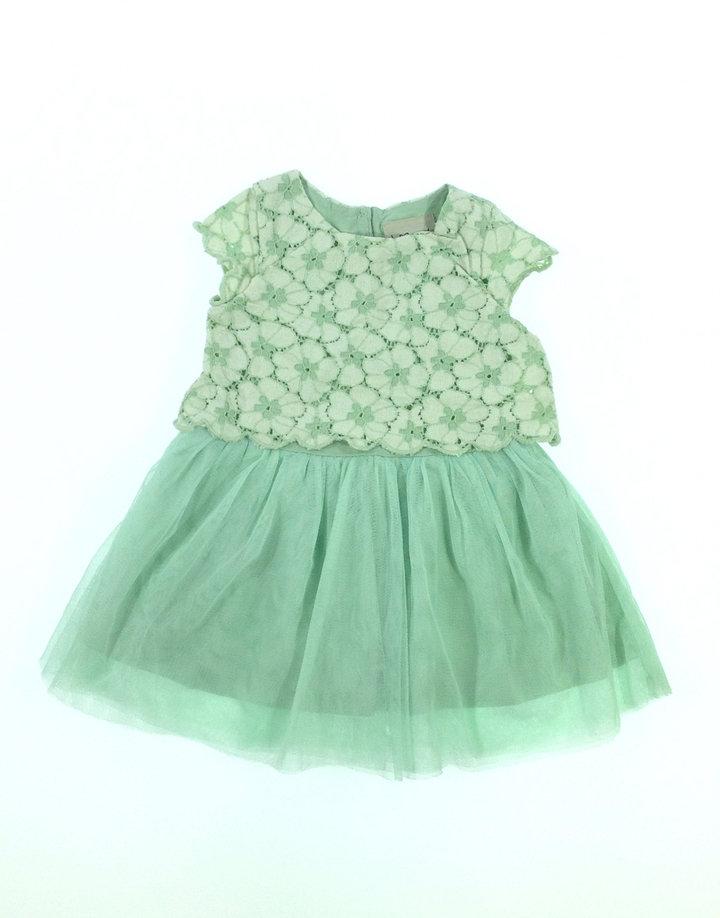 Next zöld tüllös baba alkalmi ruha  cd7d6ac455