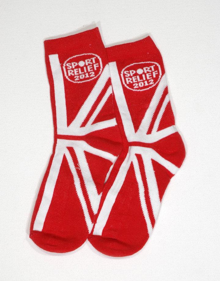 Sport Relief mintás zokni
