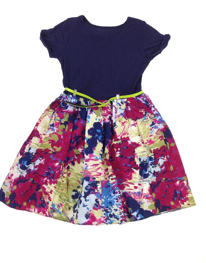 St. Bernard virág mintás lányka ruha  bf8a4bee8a