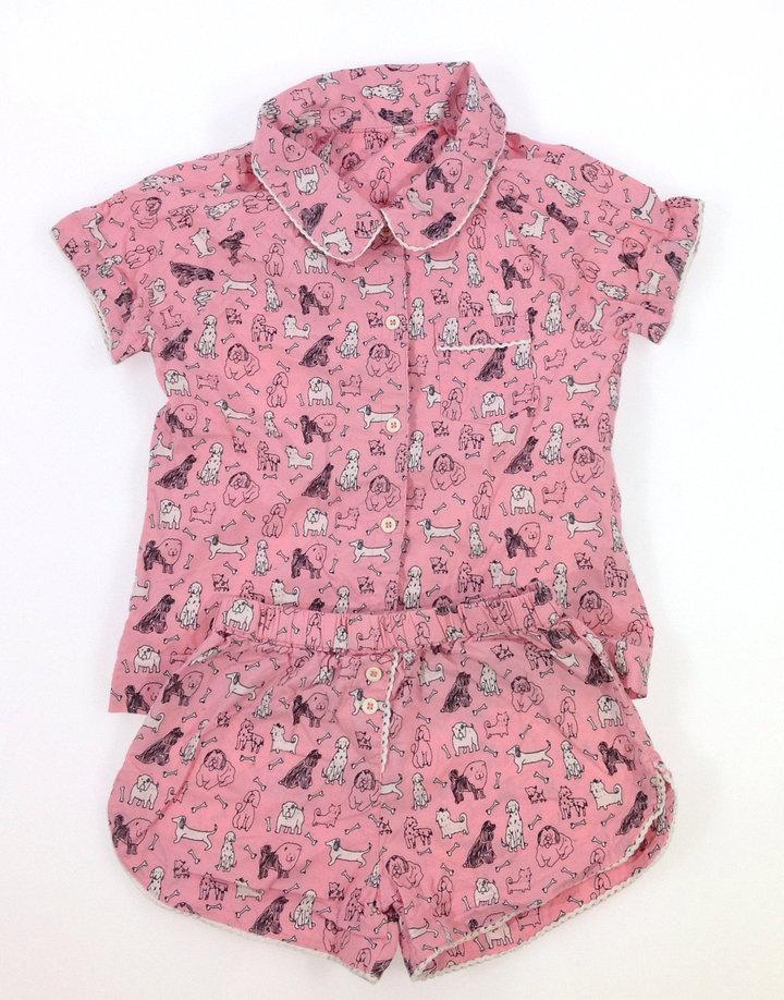 Marks Spencer kutya mintás kislány pizsama  d648c73e11