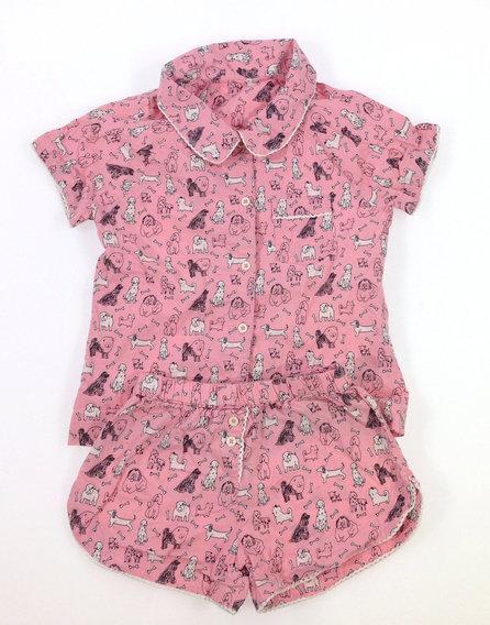 Marks Spencer kutya mintás kislány pizsama 99c5b34f64