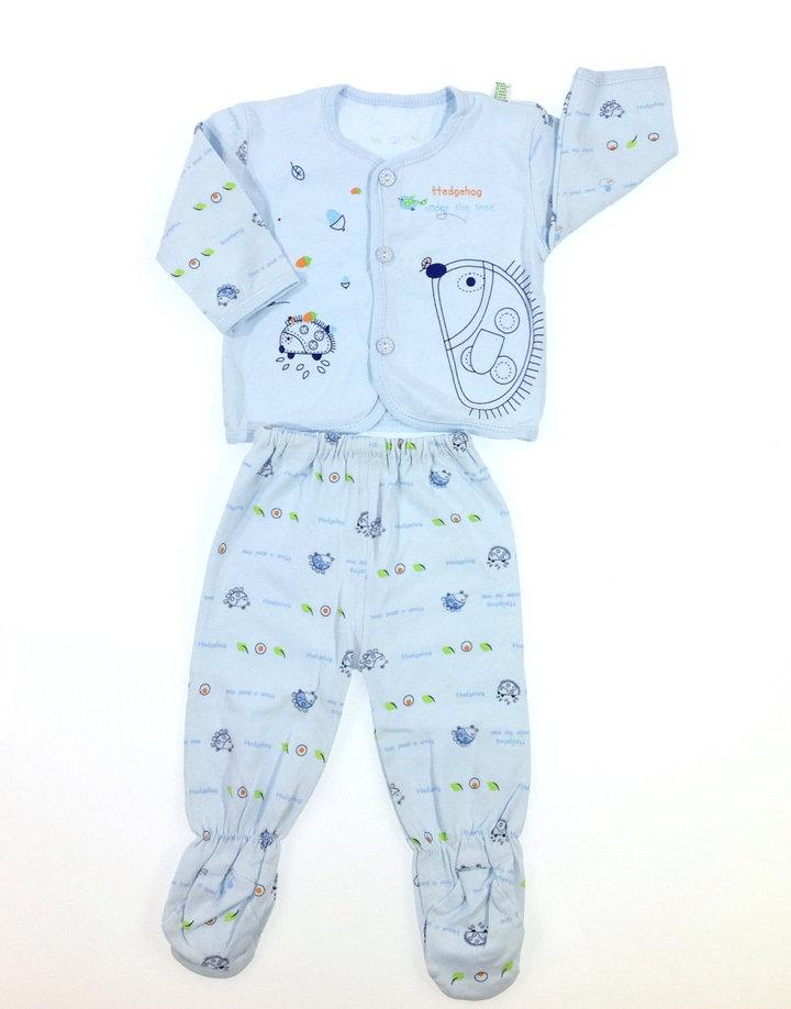 Süni mintás baba pizsama szett  9e093d5b0b