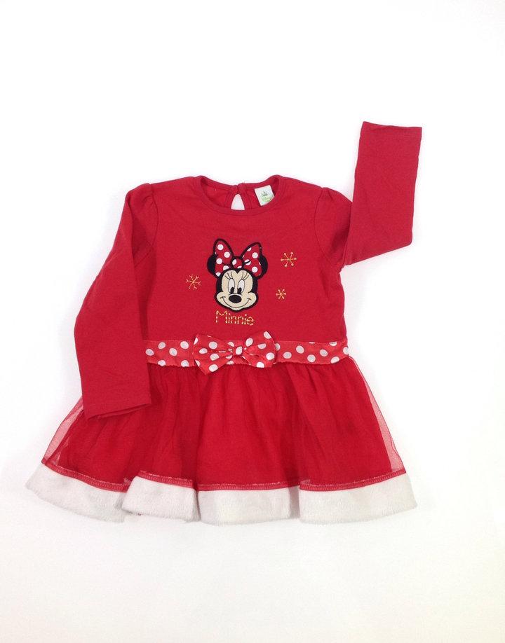 3ba905b6ad Disney Minnie mintás baba ruha   Gyerekruha Klub ?