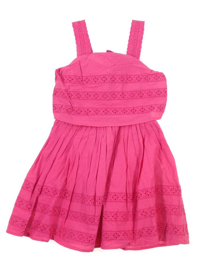 Marks   Spencer rózsaszín csipke mintás kislány ruha  057a0d6123