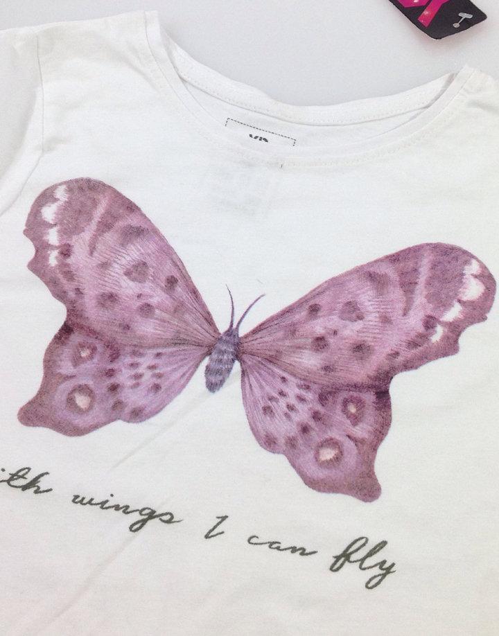Y.D. pillangó mintás kislány felső Y.D. pillangó mintás kislány felső bc6564bbc5