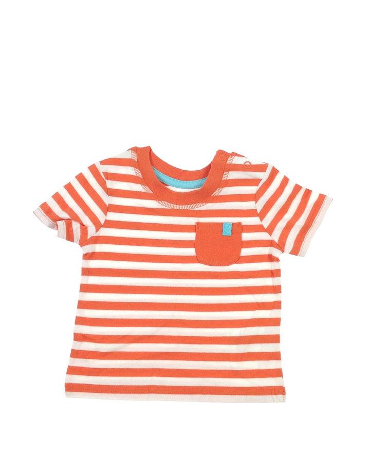George narancssárga csíkos baba póló  5479a41c4a