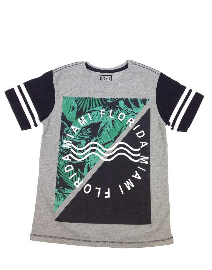 Boys vasalt mintás fiú póló  3653b06f03