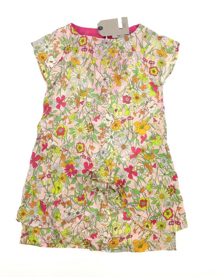 Zara virág mintás kislány ruha  b6dcdc13b7