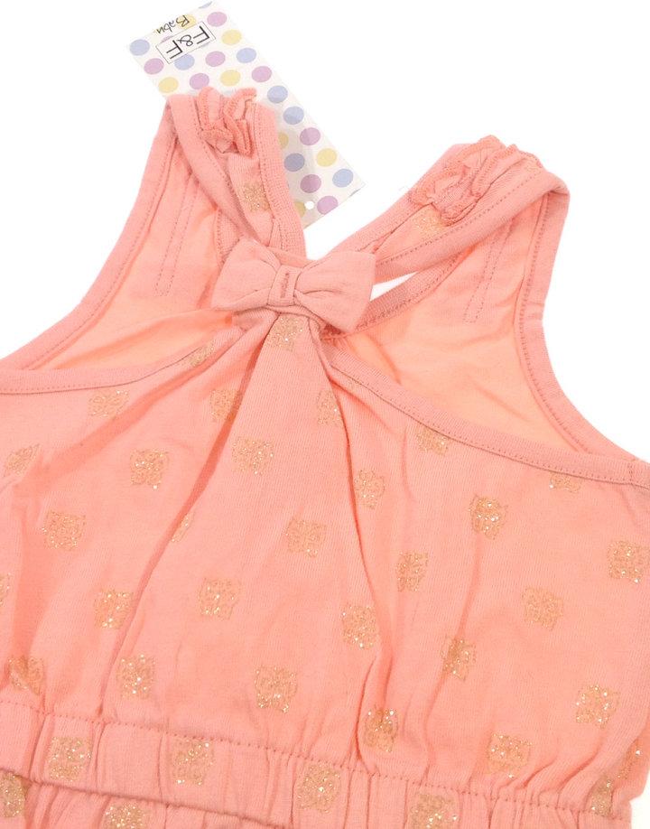 ... F F csillogós pillangó mintás baba rövidnadrágos ruha 2c64ed152f