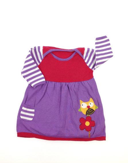 Marks Spencer bagoly mintás baba ruha ec13280c78