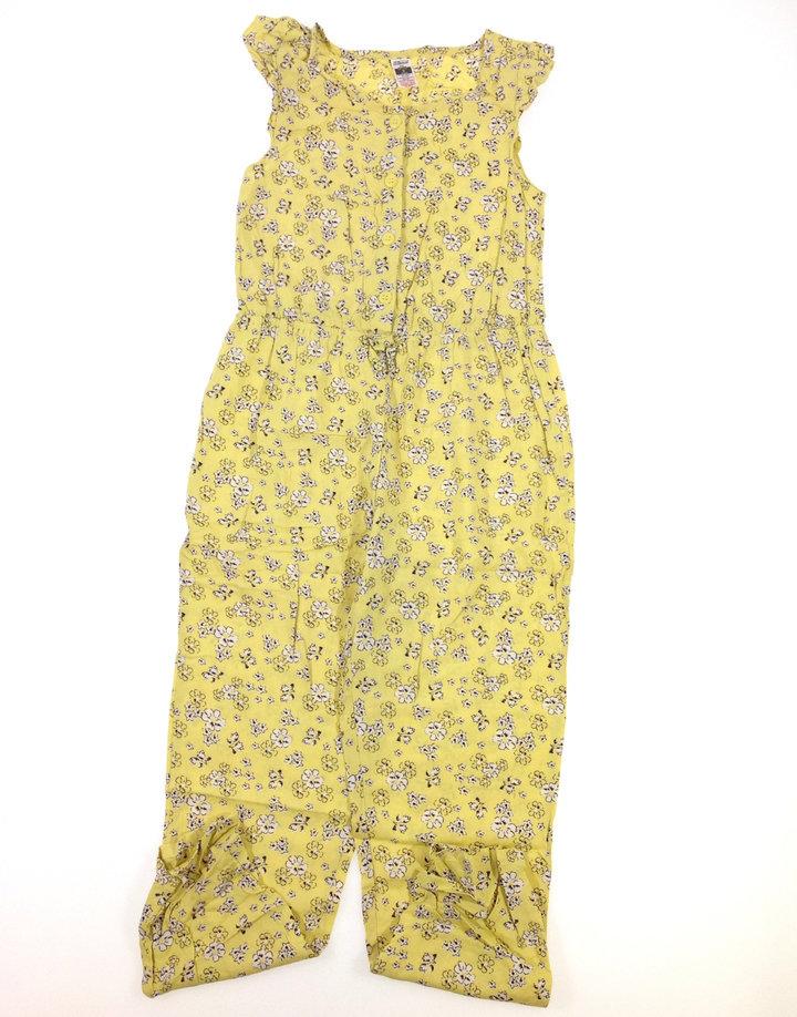 St. Bernard virág mintás kislány overál  e621467fcb