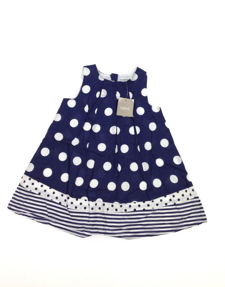 Next pöttyös kislány ruha  c64c06e921