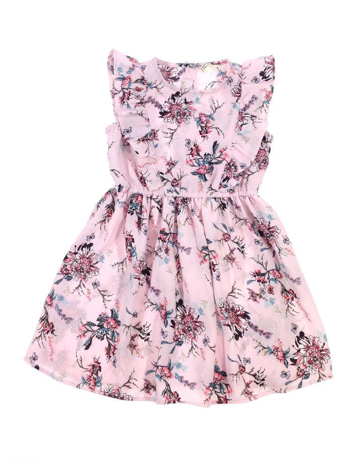 2f77882f9c River Island rózsaszín virág mintás kislány ruha   Gyerekruha Klub ?
