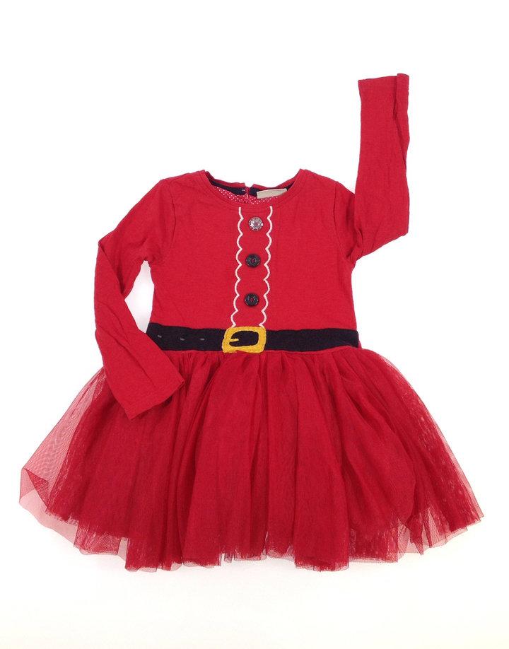 Next kislány tüllös Mikulás ruha  38e65d4965
