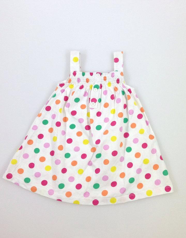 F F színes pöttyös baba ruha  c981077d30