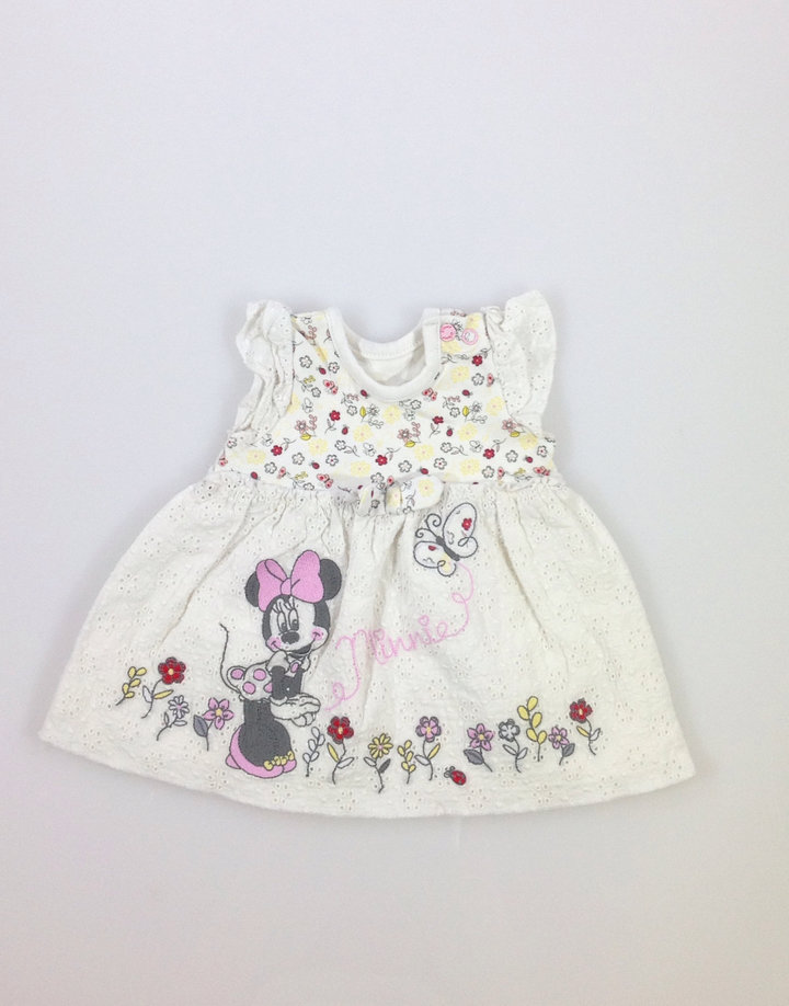 Disney Minnie mintás baba ruha  661e550c33