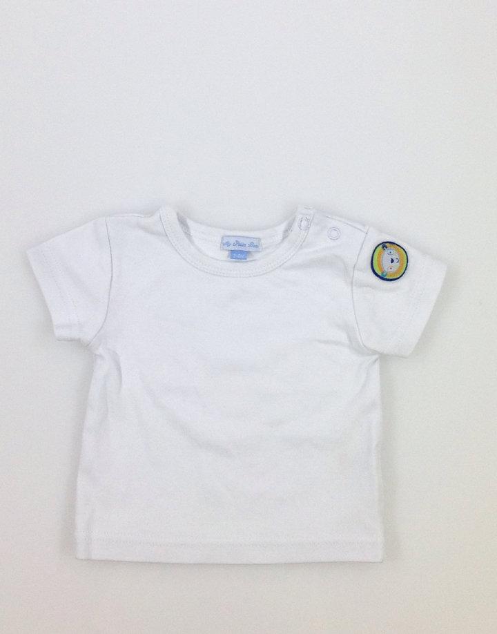 1802b84153 My Petite Beau fehér pamut póló | Gyerekruha Klub