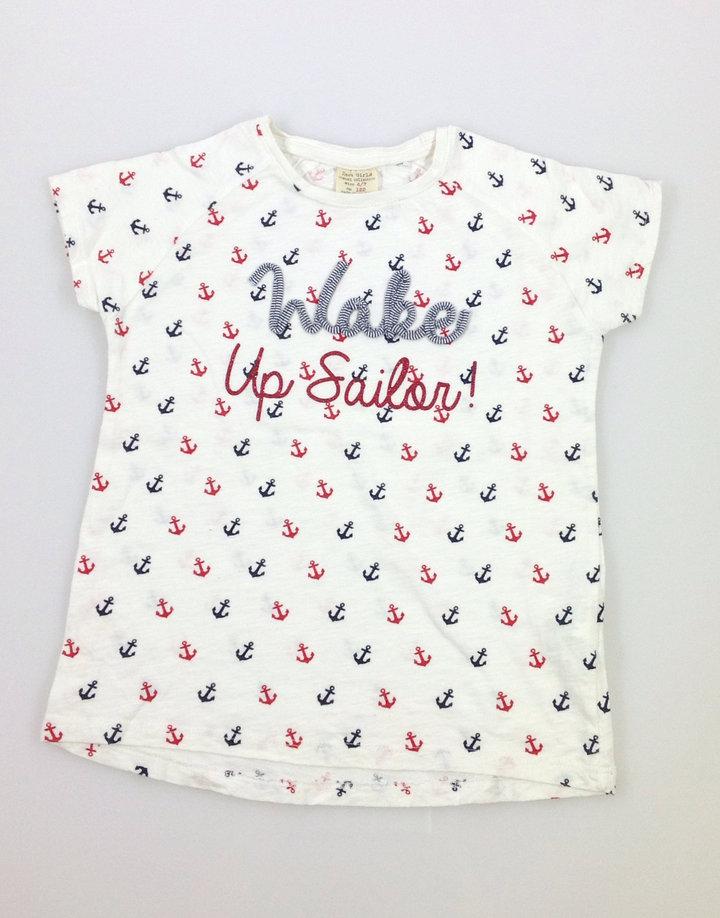 Zara vasmacska mintás kislány póló  5b5b6e9fb5